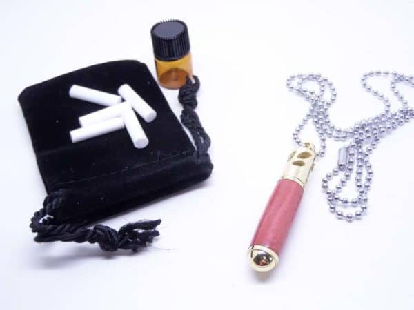 Essential Oil Pink Ivory Pendant With Accessories