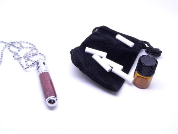 Aromatherapy Purpleheart Necklace And Accessories