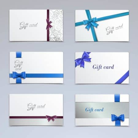 Christmas Gift Card Guide