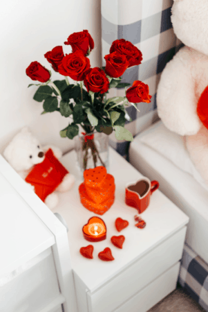 Candles for Valentine ideas