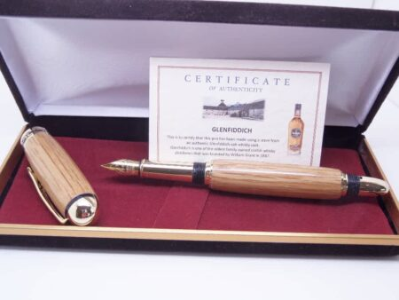 Glenfiddich Whiskey Cask Fountain Pen