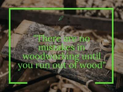 old wood sayings and advice
