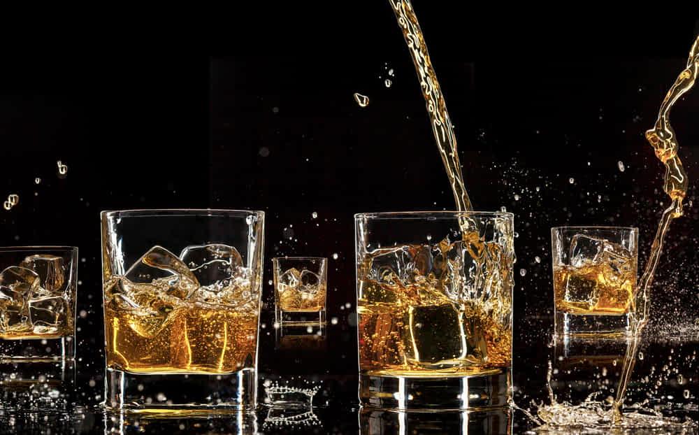 range of whisky