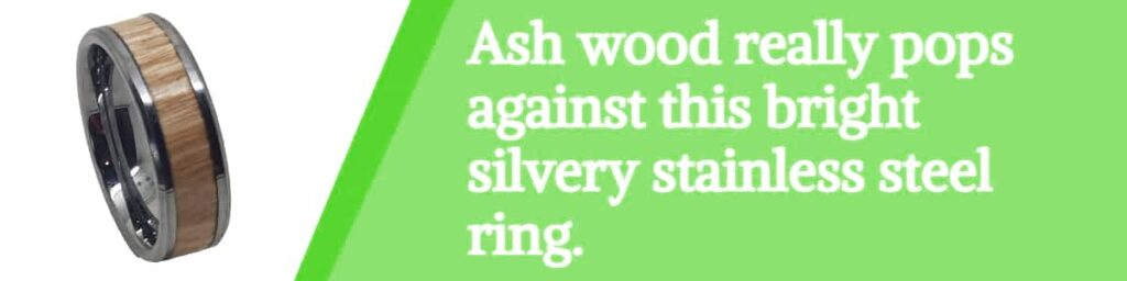 ash and stainless steel